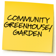 Community greenhouse / garden