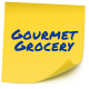 Gourmet grocery store