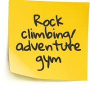 Rock climbing / adventure gym